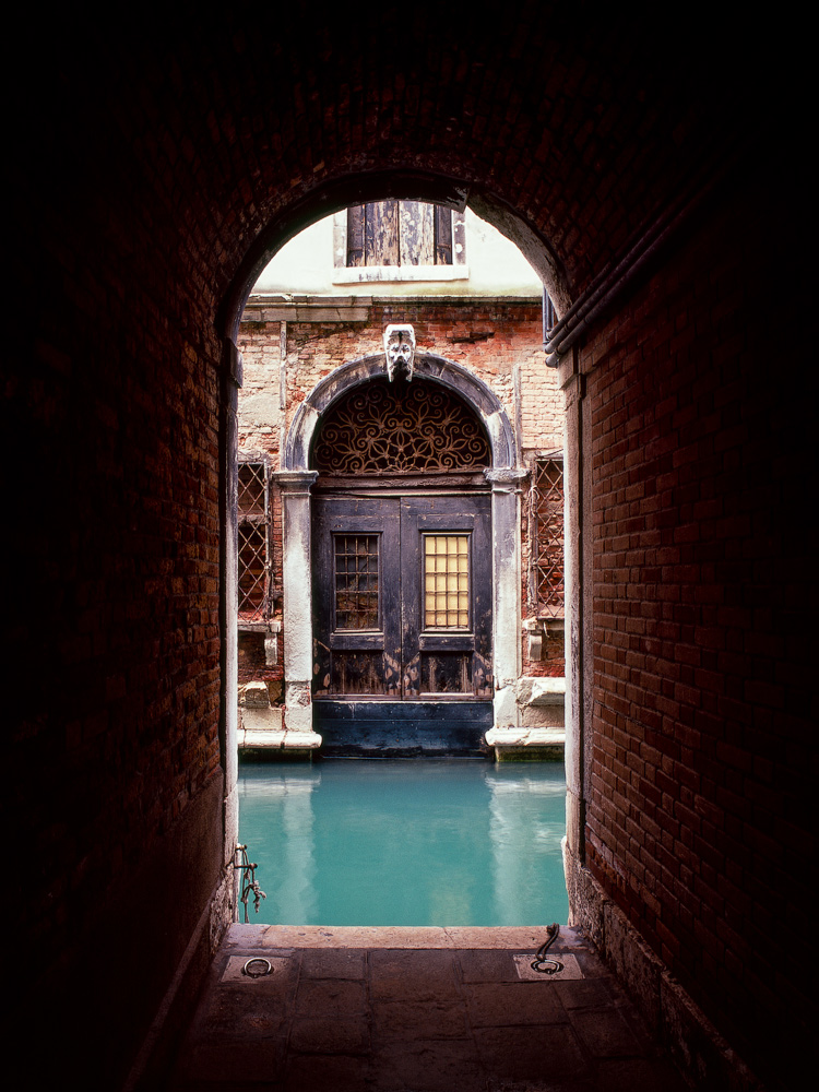 Boat garage in Venice, Italy.    Photographed by Alexandre Miguel Maia
